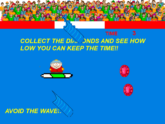 South Park Surfing